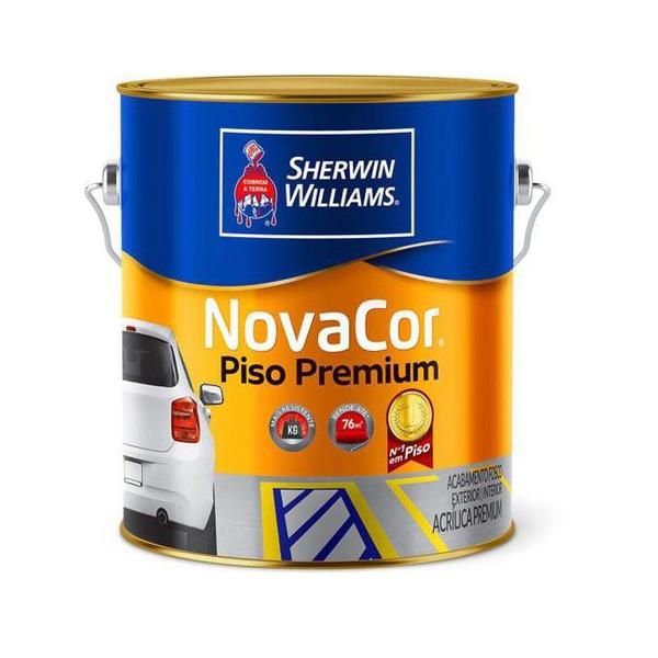 Tinta para piso novacor sherwin williams 3,6l