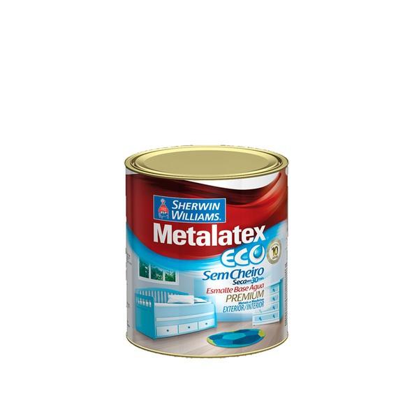 ESMALTE BRILHANTE BRANCO ECO METALATEX 0,9L