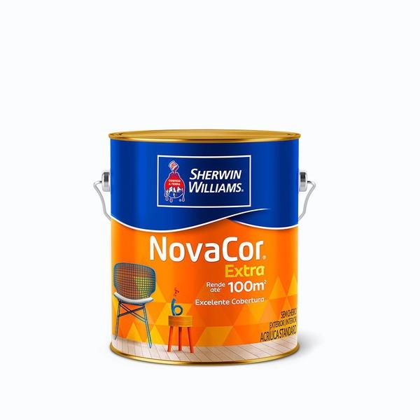 Tinta Acrílica Fosco Extra Rendimento Novacor Sherwin Williams 3,6l