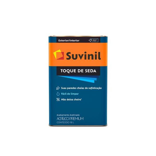 TINTA ACRÍLICA TOQUE DE SEDA BRANCO NEVE SUVINIL 18L