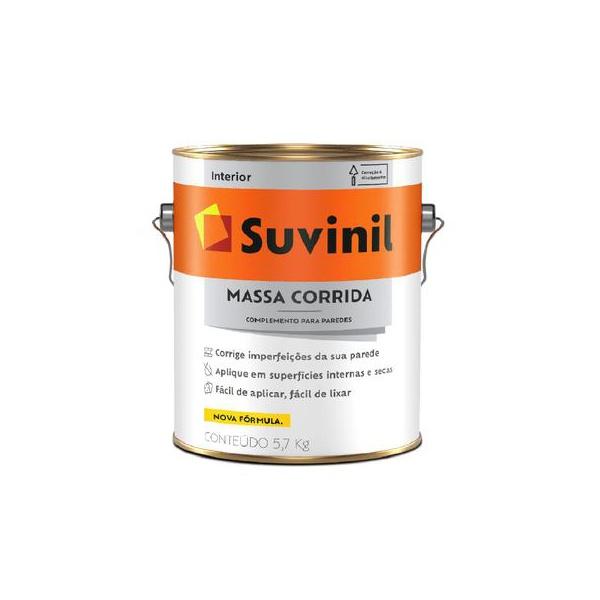 MASSA CORRIDA SUVINIL 5,7KG
