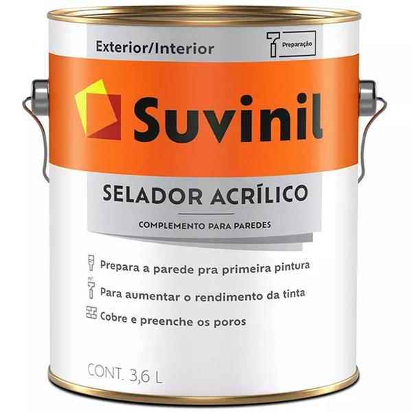 SELADOR ACRÍLICO SUVINIL 3,6L
