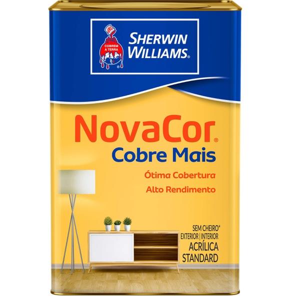 TINTA ACRÍLICA FOSCO COBRE MAIS NOVACOR SHERWIN WILLIAMS 18L