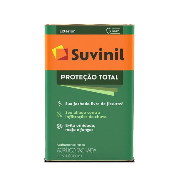 TINTA ACRÍLICA FOSCO PROTEÇÃO TOTAL SUVINIL 18L