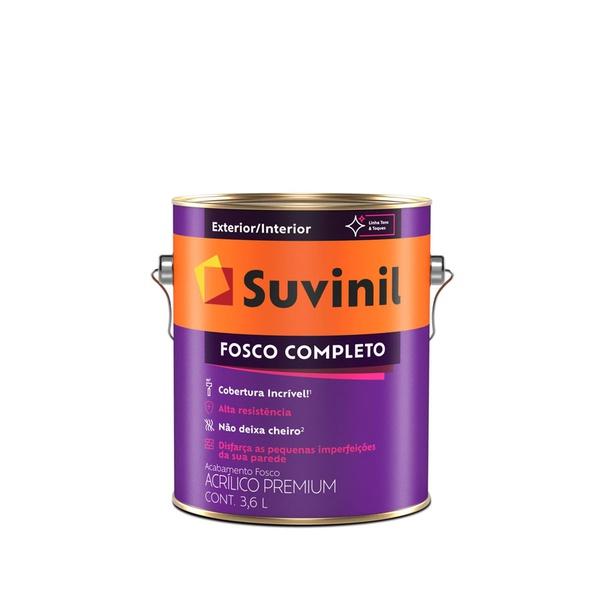 SUVINIL ACRÍLICO FOSCO COMPLETO BRANCO 3,6L