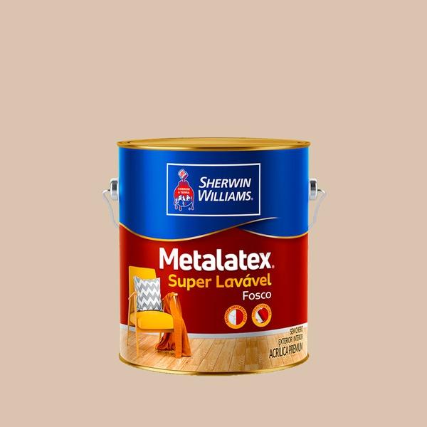 METALATEX FOSCO PERFEITO SUPERLAVÁVEL AREIA 3,6L