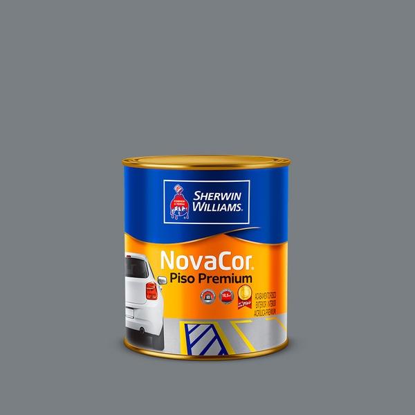 NOVACOR TINTA PARA PISO CINZA 0,9L