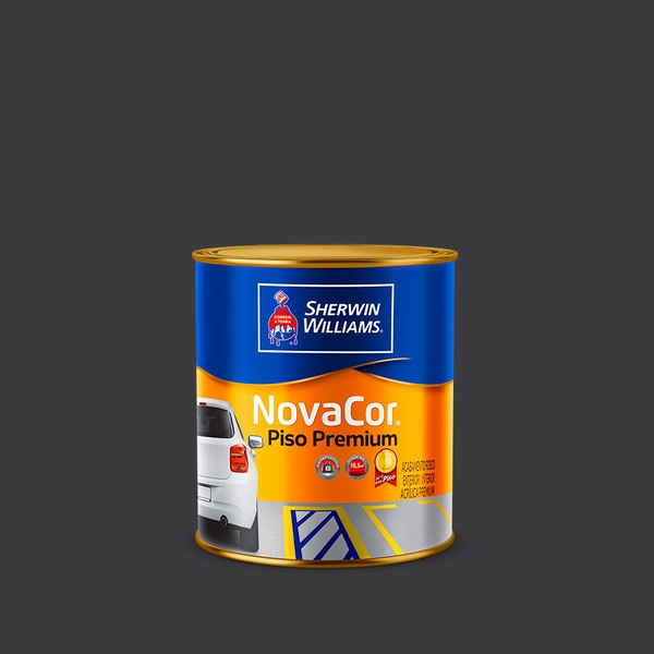 NOVACOR PISO PRETO 0,9L