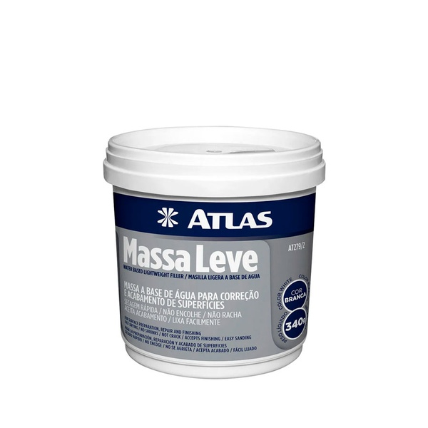 ATLAS MASSA LEVE 340GR