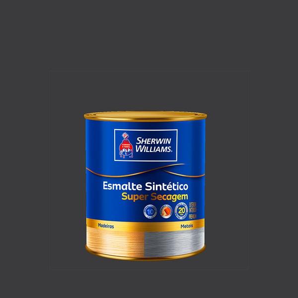 SW ESMALTE SUPER SECAGEM PRETO 0,9L