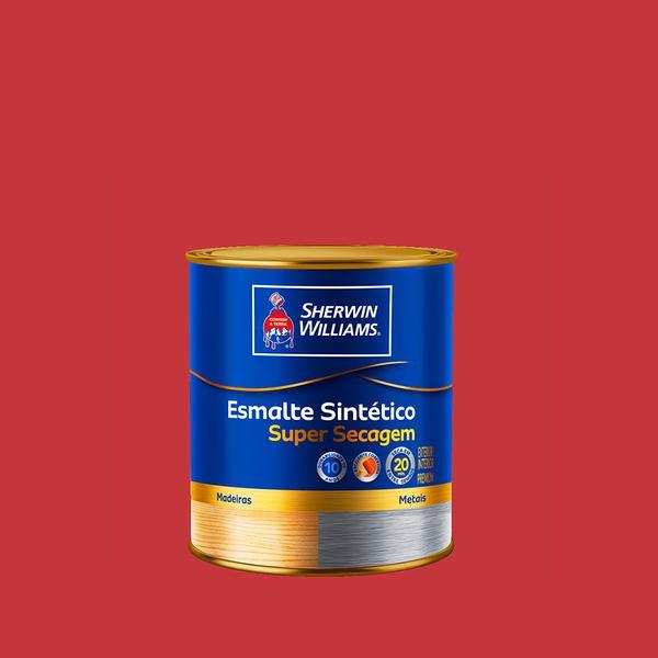 SW ESMALTE SUPER SECAGEM VERMELHO 0,9L
