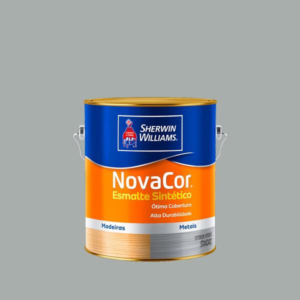 NOVACOR ESMALTE BRILHANTE PLATINA 3,6L
