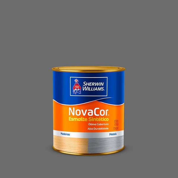 NOVACOR ESMALTE GRAFITE CLARO 0,9L