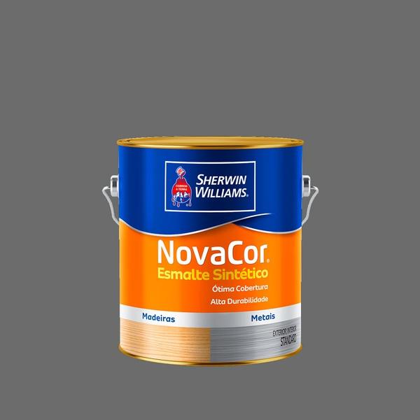 NOVACOR ESMALTE GRAFITE CLARO 3,6L