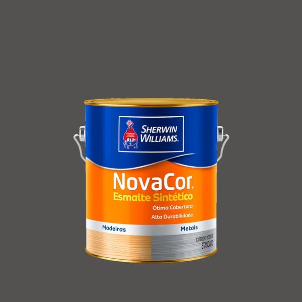 NOVACOR ESMALTE GRAFITE ESCURO 3,6L