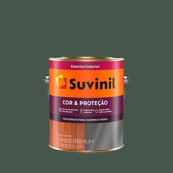 SUVINIL ESMLATE COR E PROTEÇÃO FOSCO VERDE ESCOLAR 3,6L