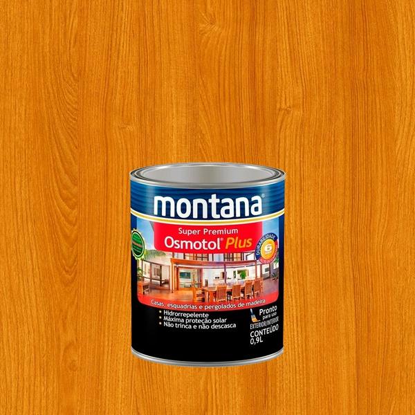 MONTANA OSMOTOL PLUS ACETINADO CANELA 0,9L