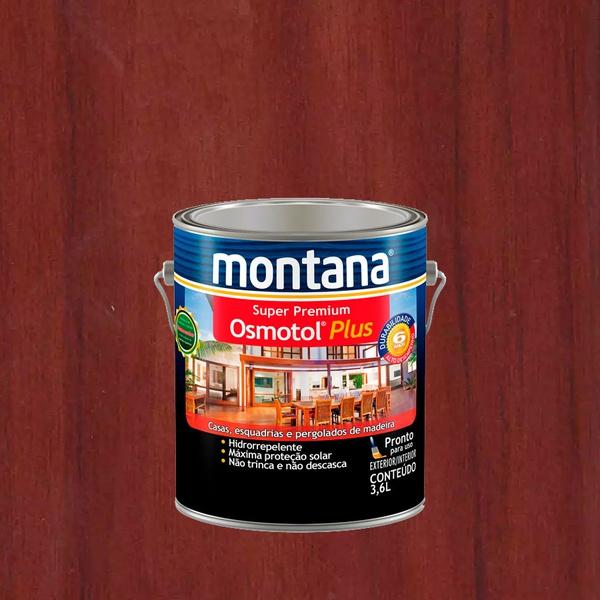 MONTANA OSMOTOL PLUS ACETINADO MOGNO 3,6L