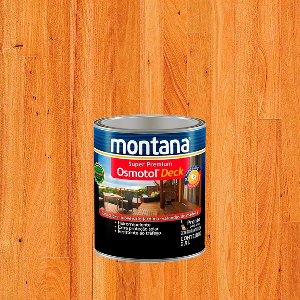 MONTANA OSMOTOL DECK NATURAL SEMI BRILHO 0,9L