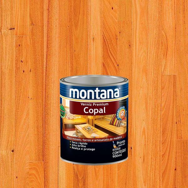 MONTANA VERNIZ COPAL BRILHANTE 0,9L