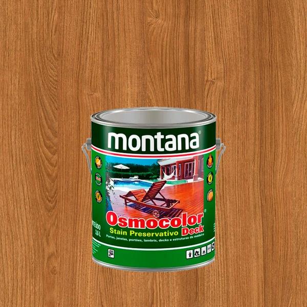 MONTANA OSMOCOLOR CASTANHO UV DECK 3,6L
