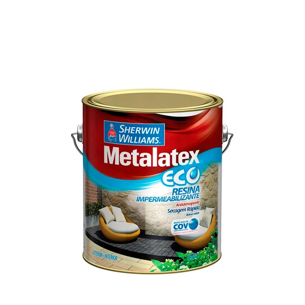 METALATEX ECO RESINA IMPERMEABLILIZANTE 3,6L
