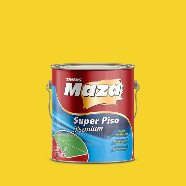 MAZA SUPER PISO PREMIUM AMARELO DEMARCAÇÃO 3,6L