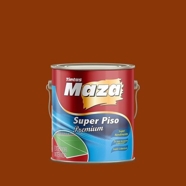 MAZA SUPER PISO PREMIUM VERMELHO OXIDO 3,6L