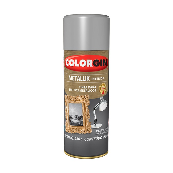 COLORGIN METALLIK PRATA
