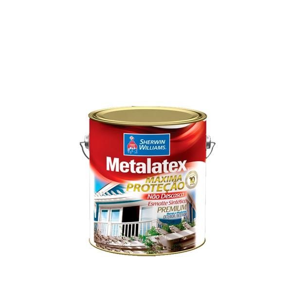 METALATEX ESMALTE BRILHANTE BRANCO 3,6L