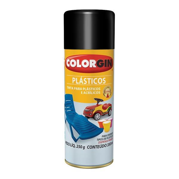 COLORGIN PLASTICOS BRILHANTE PRETO