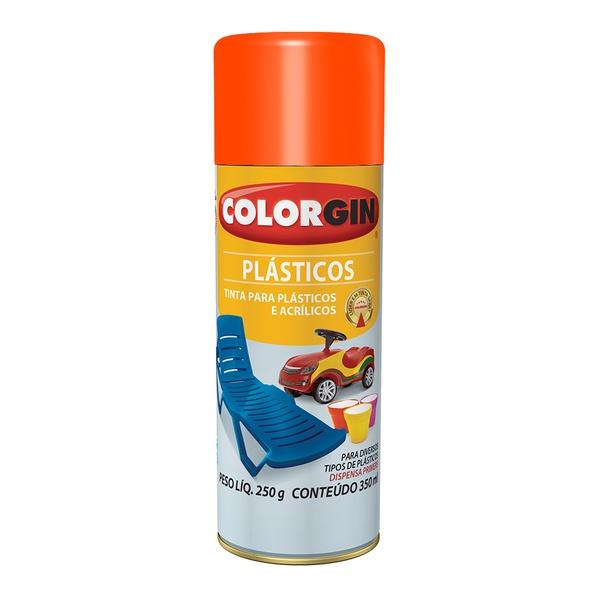 COLORGIN PLASTICOS BRILHANTE TANGERINA