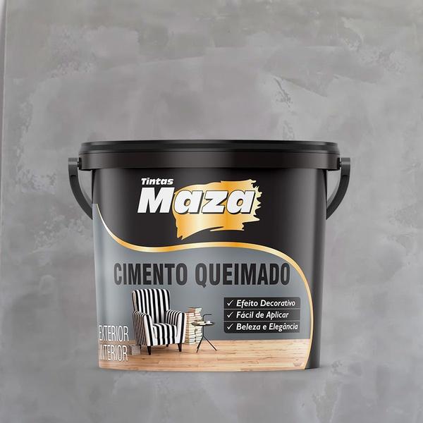MAZA CIMENTO QUEIMADO GALÃO 5,6KG