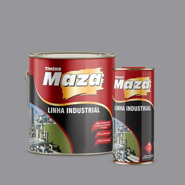 MAZA KIT TINTA EPOXI CINZA CLARO N 6,5 A+B 3,6L