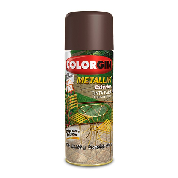 COLORGIN METALLIK EXTERIOR GRAFITE