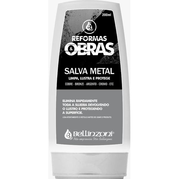 BELLINZONI REFORMAS & OBRAS SALVA METAL 200ML