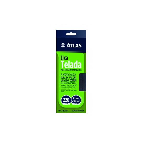 ATLAS LIXA TELADA 115X80MM 220