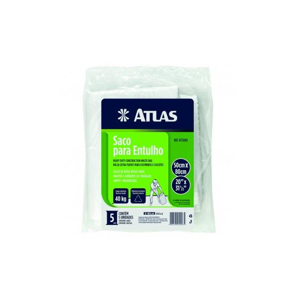 ATLAS SACO DE ENTULHO 50x80CM C/ 5 UNIDADES