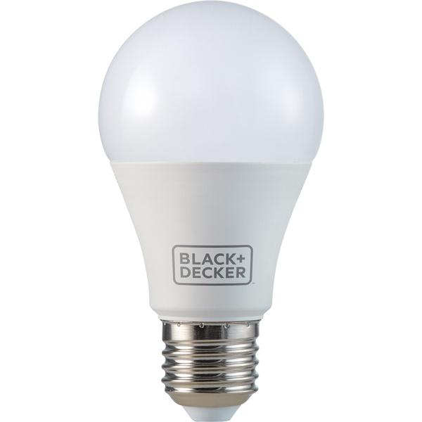 BLACK&DECKER LÂMPADA LED BULBO A60 9W 3000K AMARELA