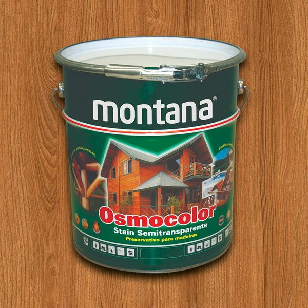 Montana Osmocolor Castanho Uv Deck 18l