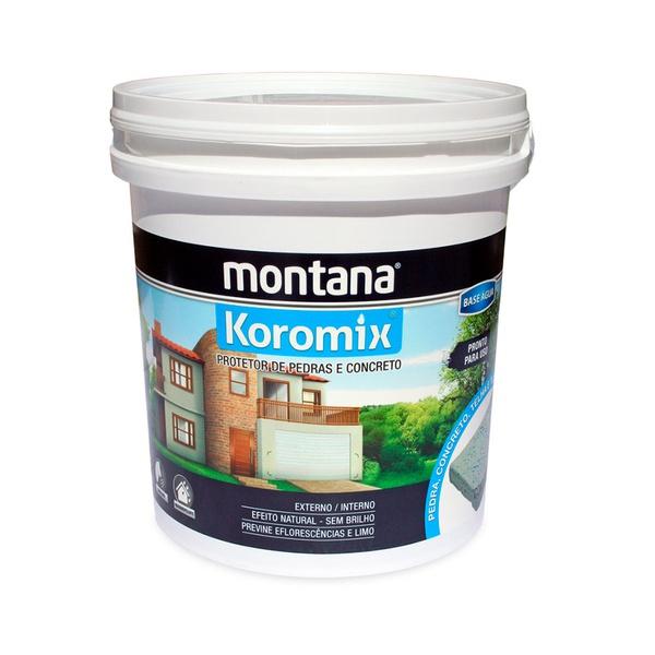 MONTANA KOROMIX ACRÍLICA SOLVENTE FOSCA 18L