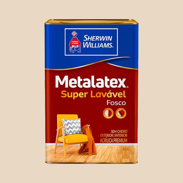 METALATEX FOSCO PREFEITO SUPERLAVÁVEL PALHA 18L