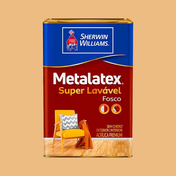 METALATEX FOSCO SUPERLAVÁVEL MEL 18L