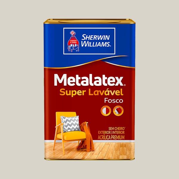 METALATEX FOSCO SUPERLAVÁVEL GELO 18L