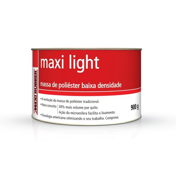 MAXI LIGHT MASSA POLIESTER 900GR