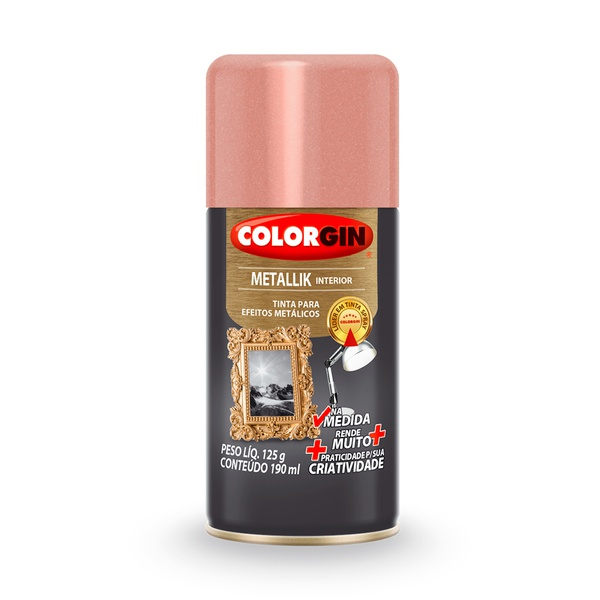 COLORGIN METALLIK NA MEDIDA ROSE GOLD 190ML