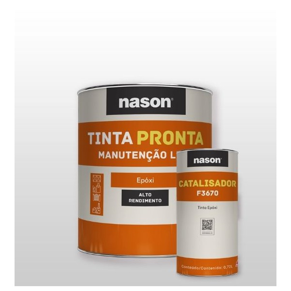 NASON KIT EPOXI VERDE PETROBRAS 2,5G A+B 3,6L