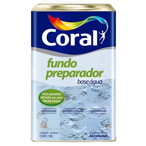 CORAL FUNDO PREPARADOR PAREDE AGUA 18L