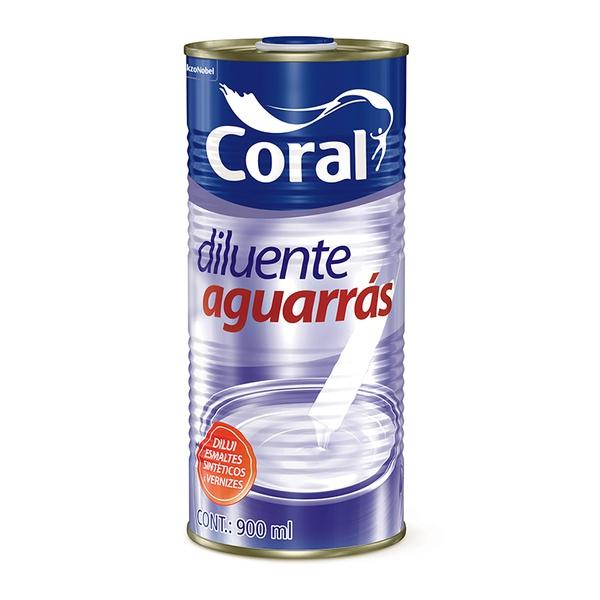 AGUARRAS CORAL 900ML
