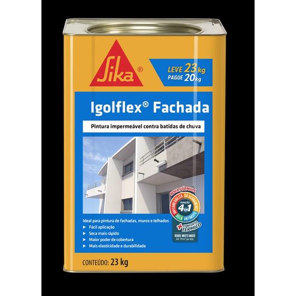 IGOLFLEX FACHADA 18KG SIKA